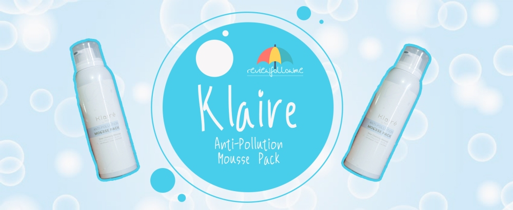 Klaire Mousse Pack